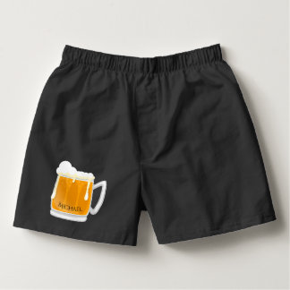 Beer design with your name boxers