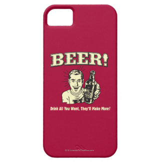 Beer: Drink All Want They'll Make Barely There iPhone 5 Case