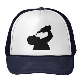 Beer drinking hats