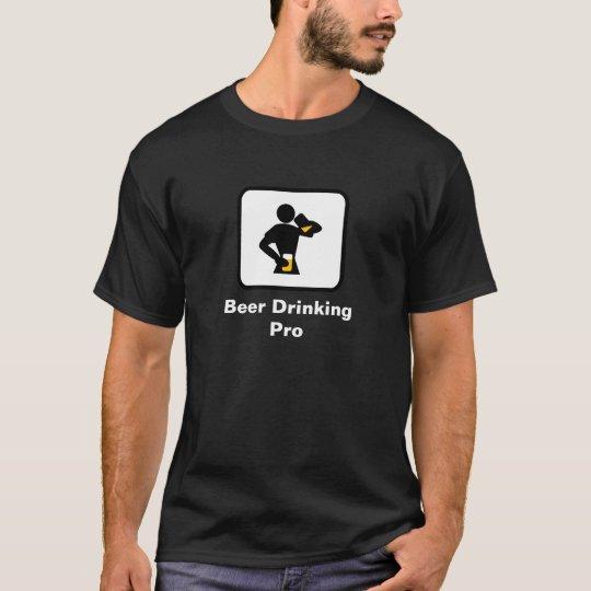 Beer Drinking Pro (Dark) T-Shirt