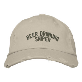 Beer Drinking Sniper Baseball Cap