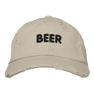 Beer Embroidered Baseball Cap