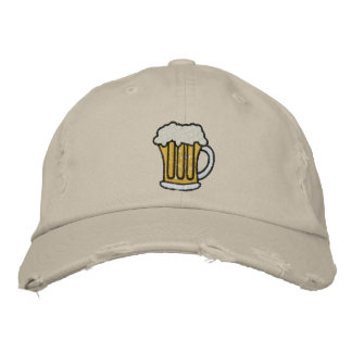 Beer Embroidered Caps Embroidered Hats