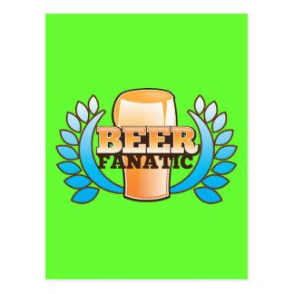 BEER FANATIC design Post Card