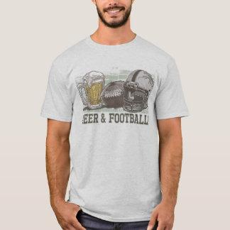Beer & Football  by Mudge Studios T-Shirt