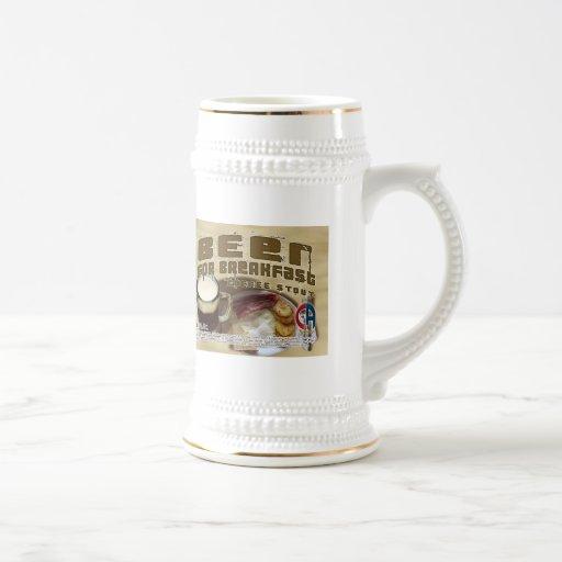 Beer For Breakfast Coffee Mug