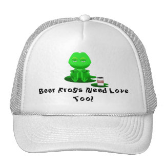 Beer Frog Hat