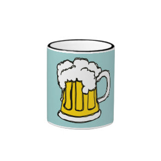 Beer! Frothy Bubbly Mug of Brew