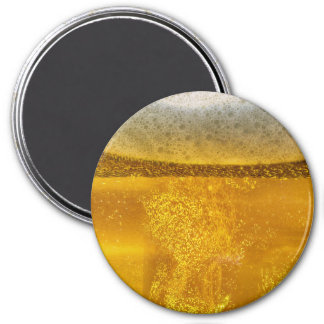 Beer Galaxy a Celestial Quenching Foam 7.5 Cm Round Magnet