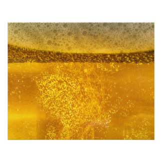 Beer Galaxy a Celestial Quenching Foam Photographic Print