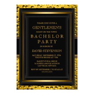 Beer Gentlemen's Bachelor Party Invite