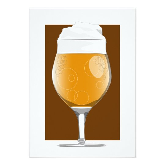 Beer glass 2 invitation