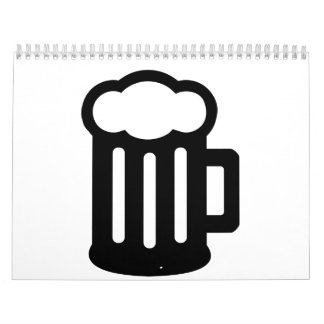 Beer Glass Mug Calendar