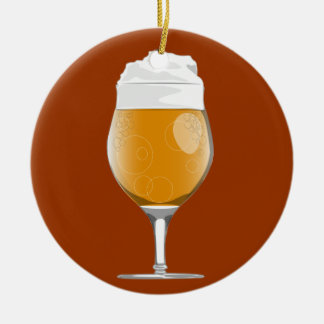 Beer glass ornament