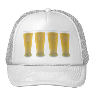 Beer Glasses Hat
