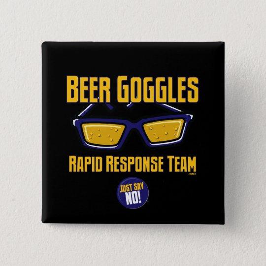Beer Goggles Rapid Response Team 15 Cm Square Badge