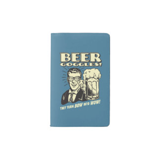 Beer Goggles: Turn Bow Into Wow Pocket Moleskine Notebook