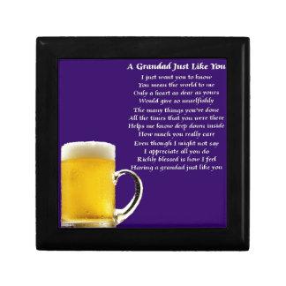 Beer - Grandad Poem Gift Box