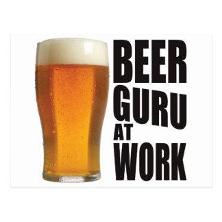 Beer Guru Postcard