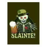 Beer Happy Skeleton