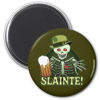 Beer Happy Skeleton Magnets