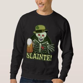 Beer Happy Skeleton Sweatshirt