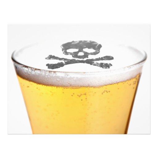 Beer Head Bubbles Custom Flyer