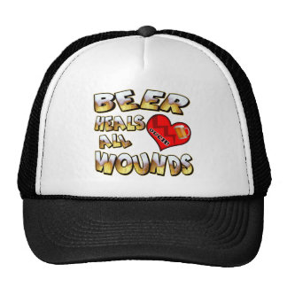 Beer Heals All Wounds T-shirts Gifts Hats