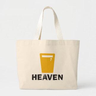 Beer Heaven Canvas Bag