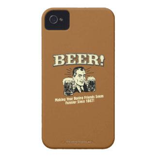 Beer: Helping Friends Seem Funnier iPhone 4 Cases