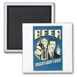 Beer - Helping White Guys Dance Since 1842 Fridge Magnet