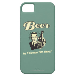 Beer: Hey It's Cheaper Than Therapy iPhone 5 Covers