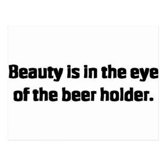 Beer Holder Postcard