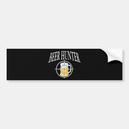 Beer Hunter Bumper Sticker