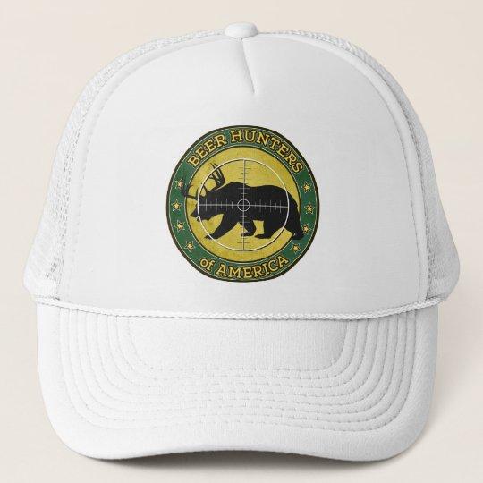 Beer Hunters of America (fun bear w/ antlers logo) Cap
