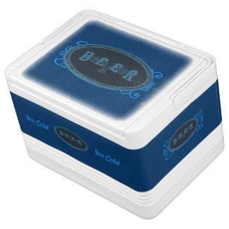Beer! Ice Cold - Blue Badge Igloo Cool Box