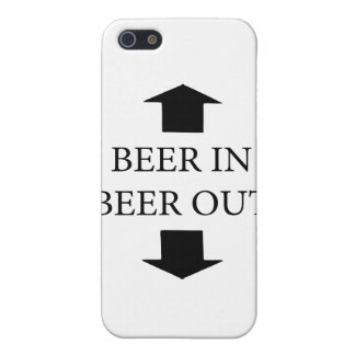 Beer In Beer Out iPhone 5 Cover