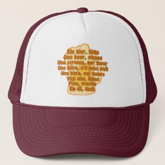 BEER in languages hat - choose color