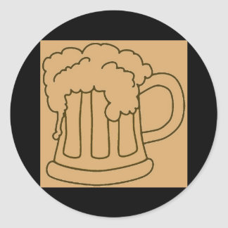 Beer In Mug/Oktoberfest Sticker