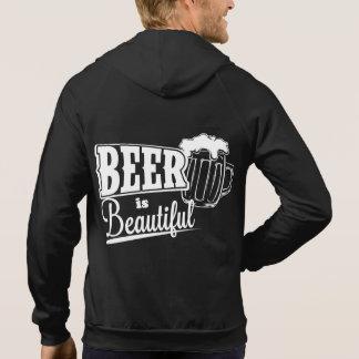 Beer is beautiful hoodie