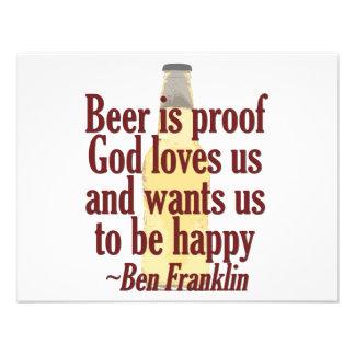 Beer is Proof Custom Invite