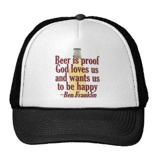 Beer is Proof Mesh Hat