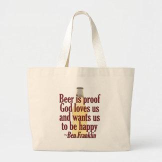 Beer is Proof Tote Bag