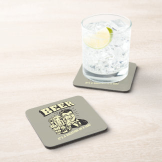 Beer: It's A Vacation In Can Coaster