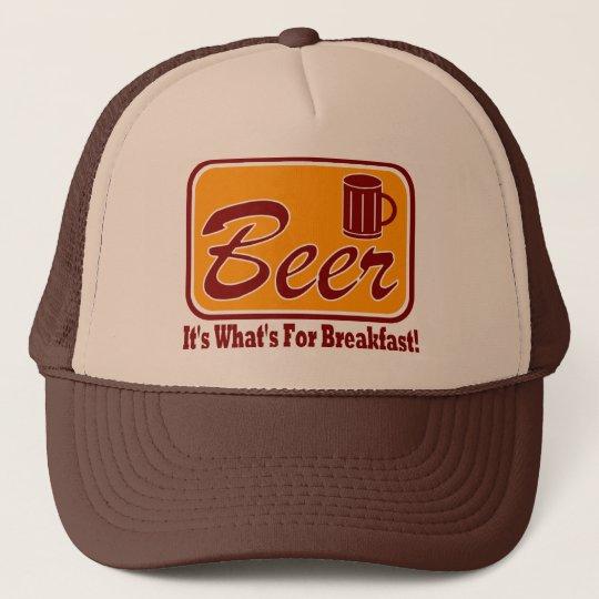 Beer - It's What's For Breakfast !  Trucker Hat