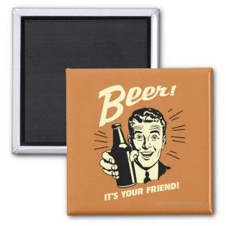 Beer: It's Your Friend Fridge Magnets
