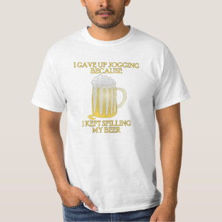Beer Jogging T Shirt