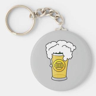Beer Key Ring