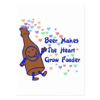 Beer Love Postcard