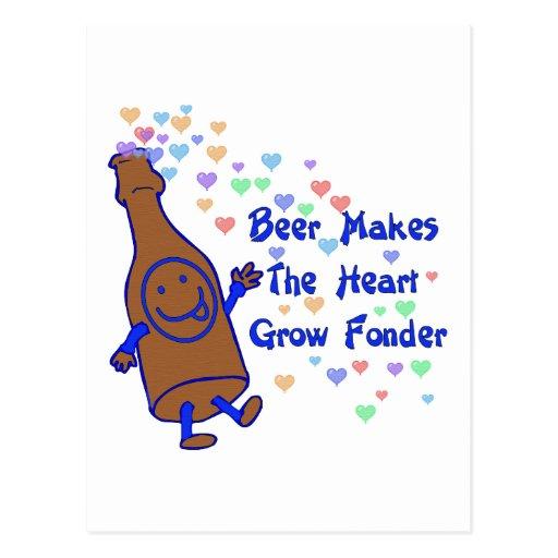 Beer Love Post Card
